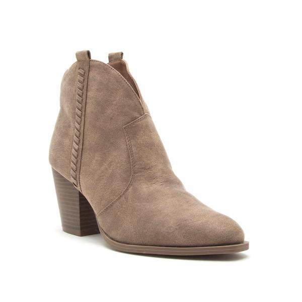Prenton Boots Shoes Qupid 5.5 Taupe