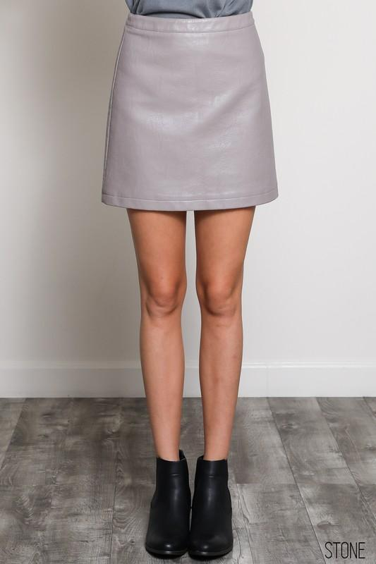 Friday Night Fever Stone Skirt