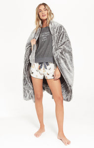 Z Supply Cozy Faux Fur Blanket Z Supply Z Supply