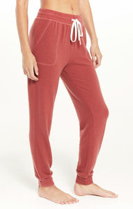 Z Supply Rosy Red Comfy Brushed Jogger Z Supply Z Supply