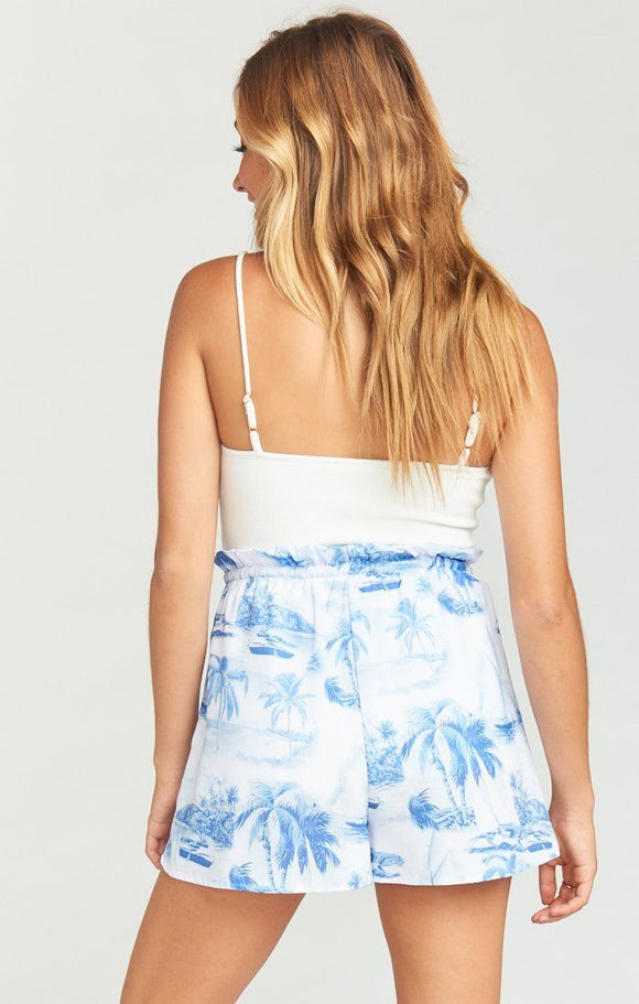 Show Me Your Mumu Boardwalk Shorts-Sail Away