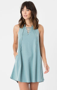 All Tied Up Lagoon Dress Dresses Z Supply