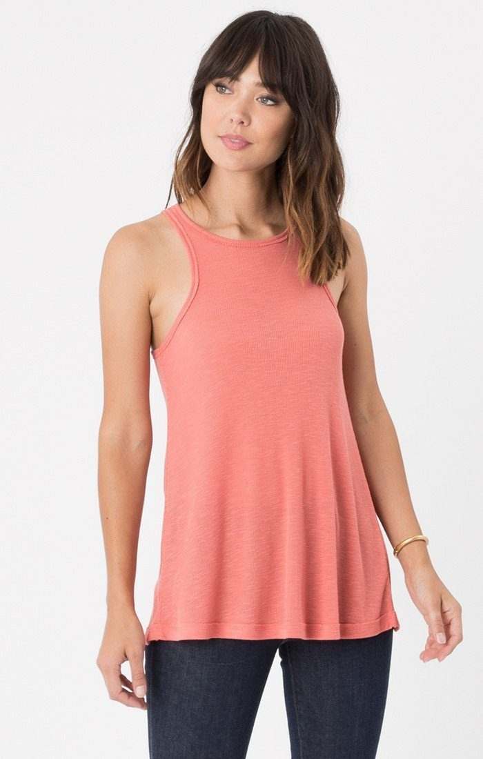 Rib Racer Spiced Coral Tank