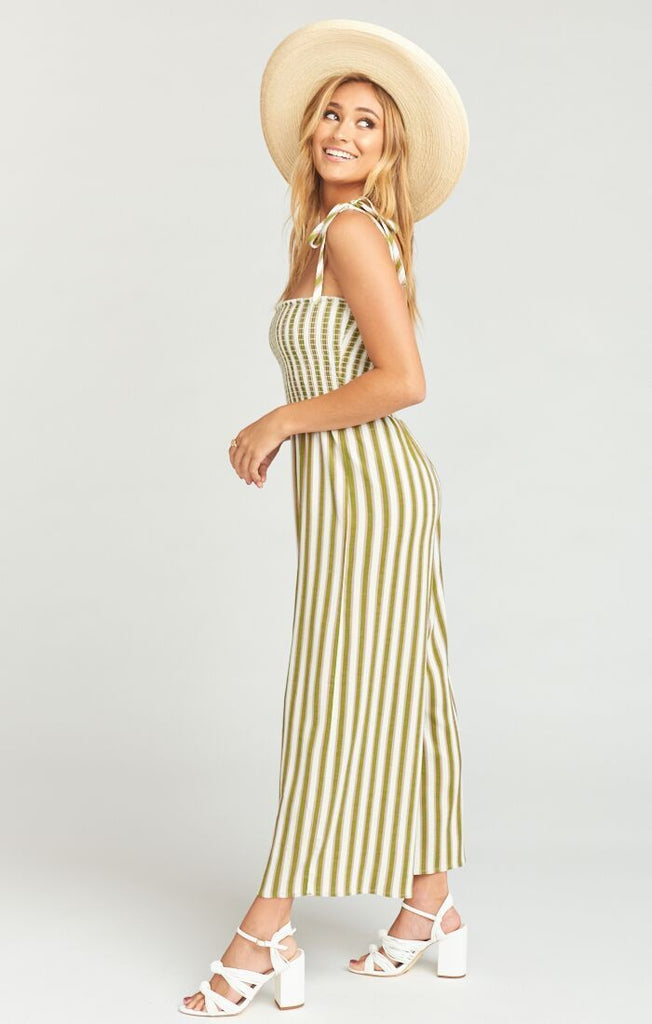 Show Me Your Mumu Parton Playsuit Ciao Bella Stripe