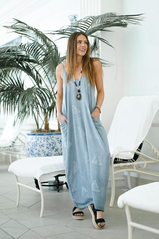 Close To Your Heart Maxi Dresses Lovestitch S/M Blue