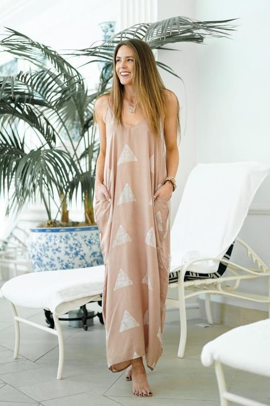 Close To Your Heart Maxi Dresses Lovestitch S/M Nude