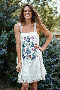 Fascinated By Florals Dress Dresses Lovestitch Small White