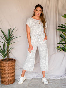Shades of Grey Leopard Jumpsuit
