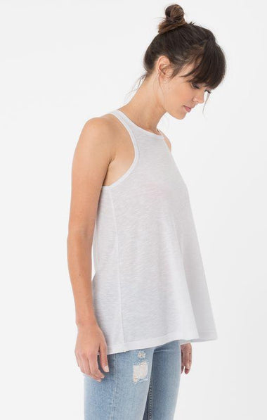 Rib Racer White Tank Z Supply Z Supply