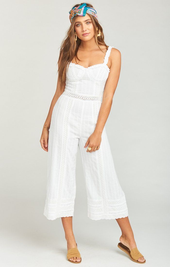 Show Me Your Mumu Greer Jumpsuit - Verona Lace Jumpsuits Show Me Your Mumu
