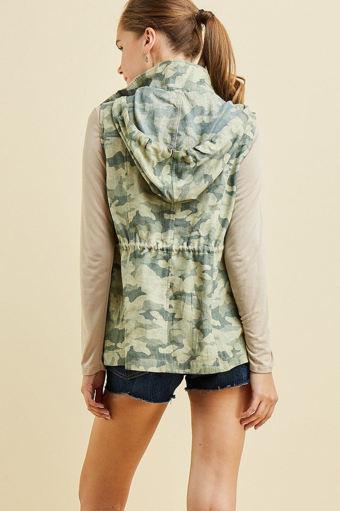 Salute To Cool Army Camo Vest