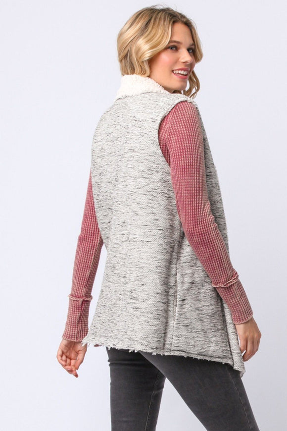 Staying Soft Sweater Vest