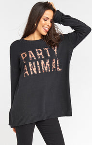Mumu Fireside Sweater Tops Show Me Your Mumu XSmall Black