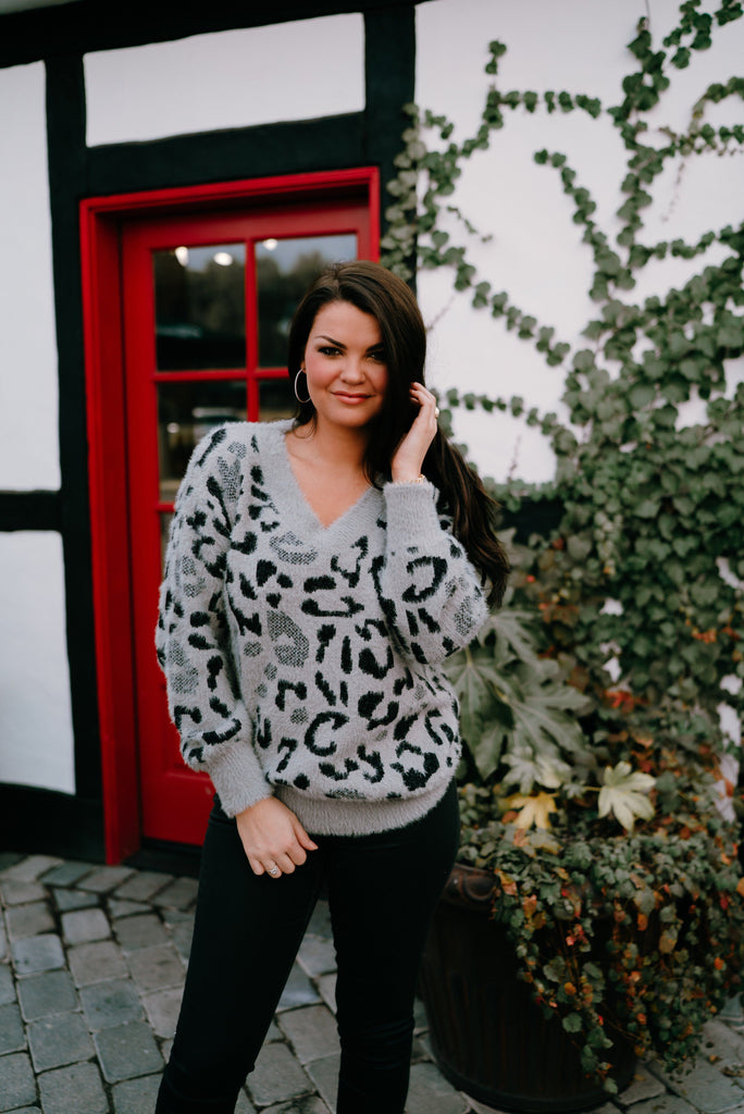Leopard and More Sweaters cherish