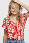 Free People Baja Babe Tee Tops Free People