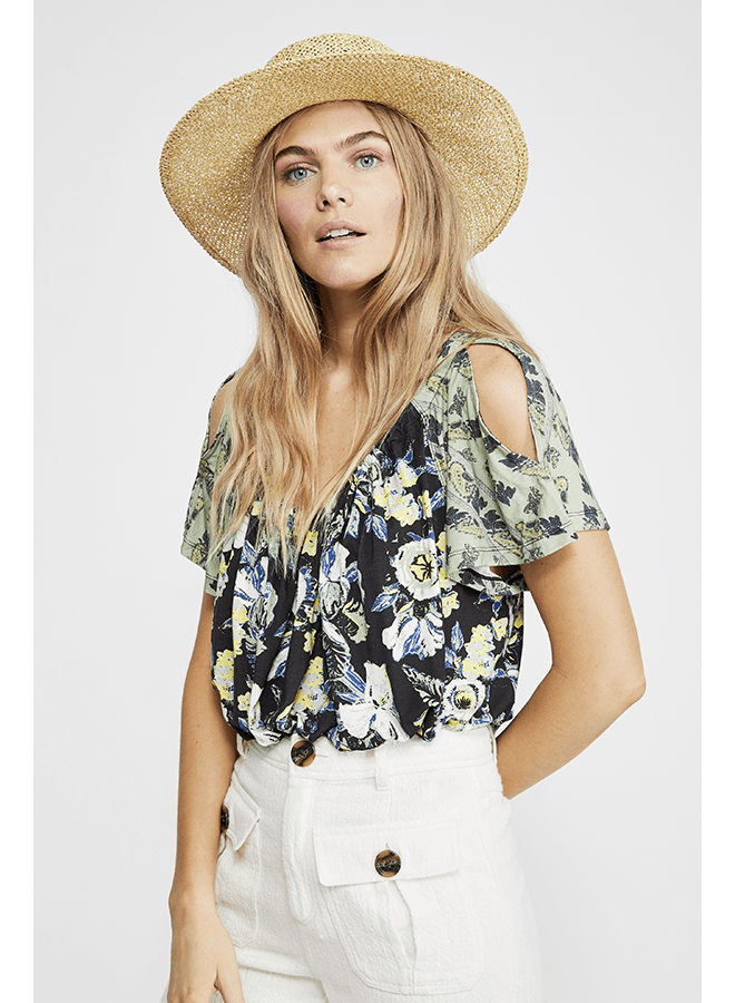 Free People Baja Babe Tee