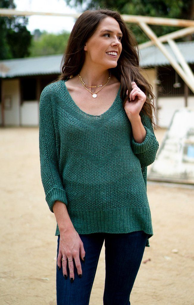 Pull Me Over Knit Sweater