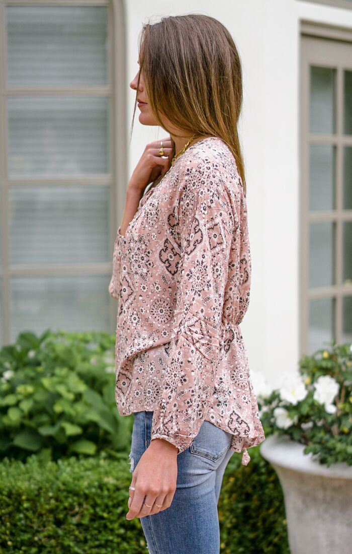 McCall Paisley Top Tops Dakotas Boutique