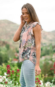 Ruffles & Florals Top Tops Lovestitch