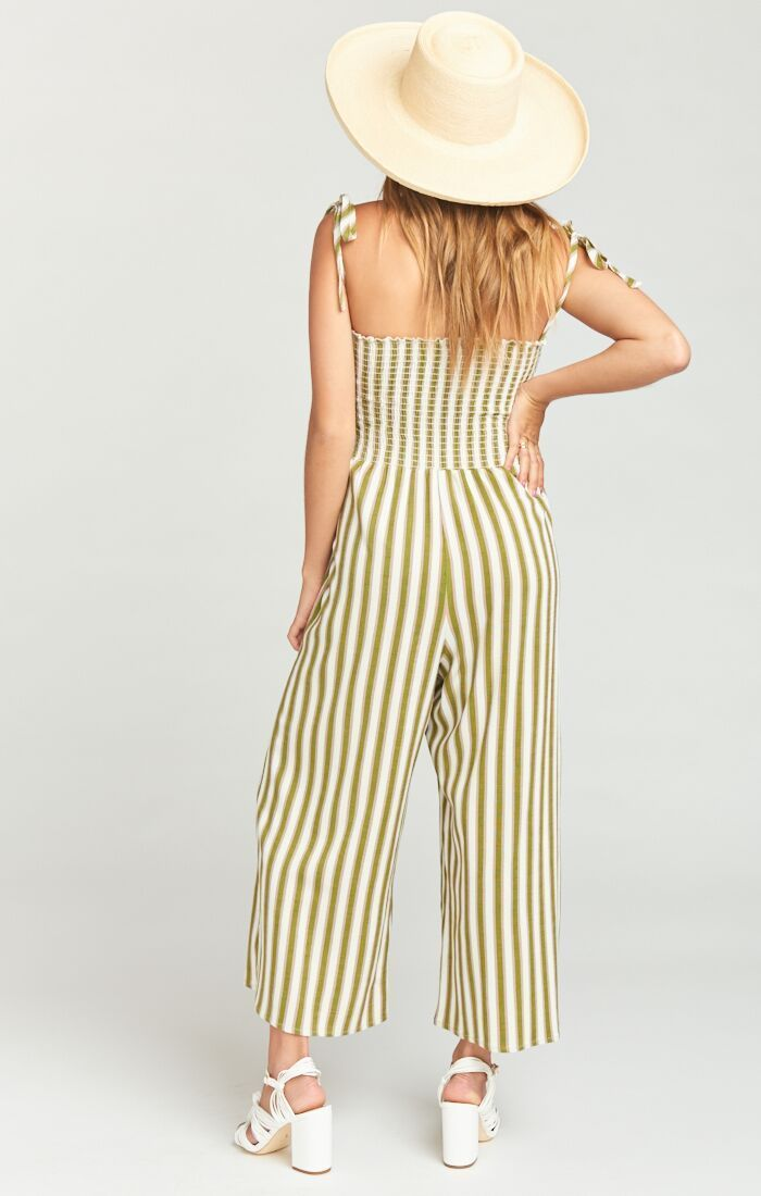 Show Me Your Mumu Parton Playsuit Ciao Bella Stripe Jumpsuits Show Me Your Mumu