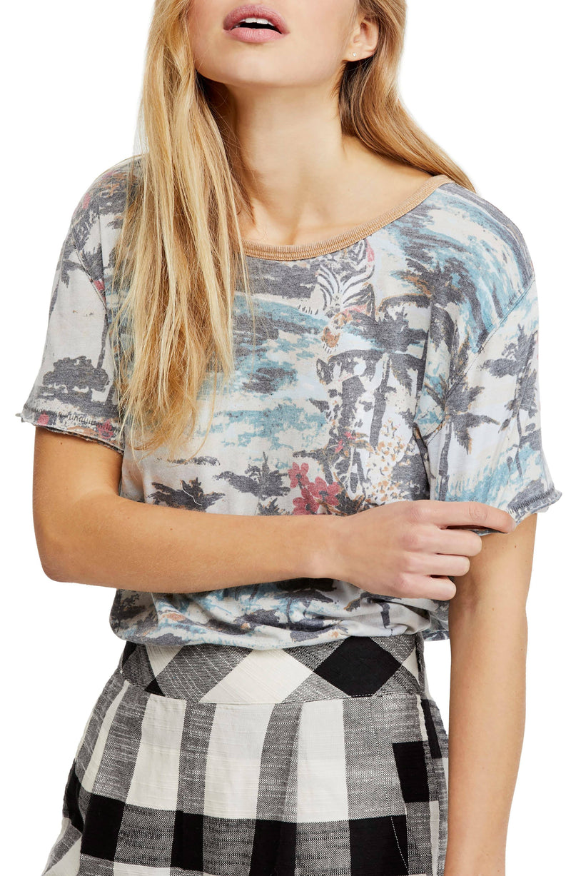 Free People Tourist Tee Final Sale Free People