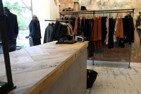 Miss corner boutique in frederiksberg mit rackbuddy for Ringo schiebetur montageanleitung