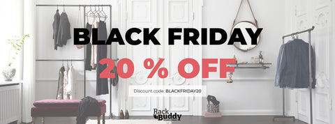 Black Friday hos RackBuddy - 20%