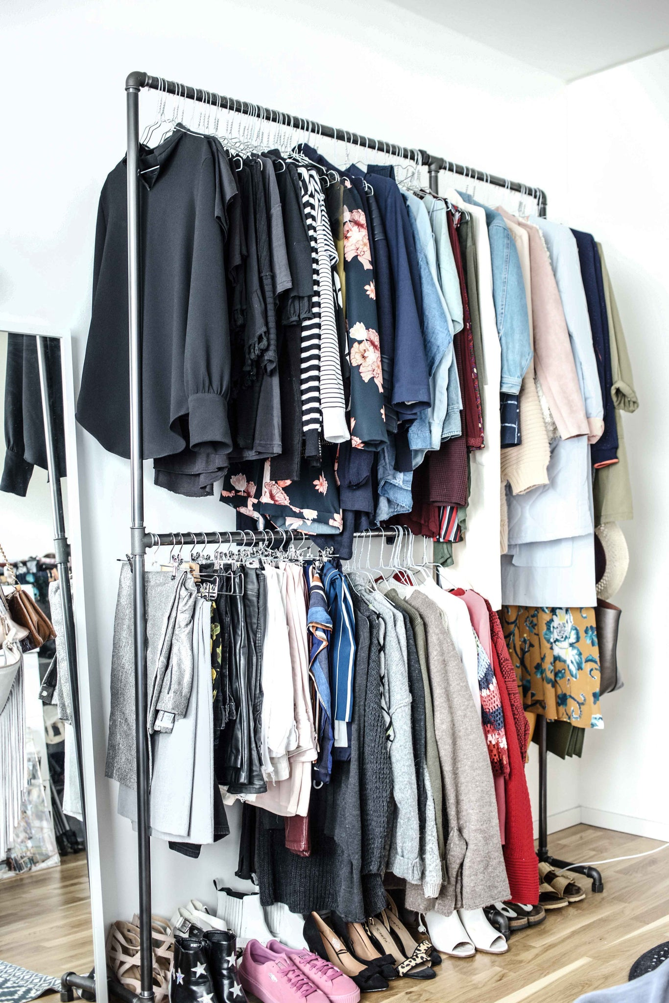 organize how womansday organization tips home storage best closet rack to clothes organizing ideas cleaning your pants com