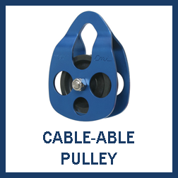 Cable-Able Pulleys