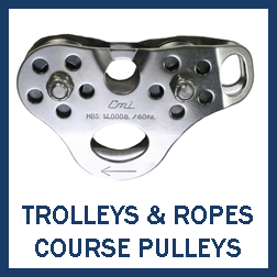 Trolleys & Ropes Course Pulleys