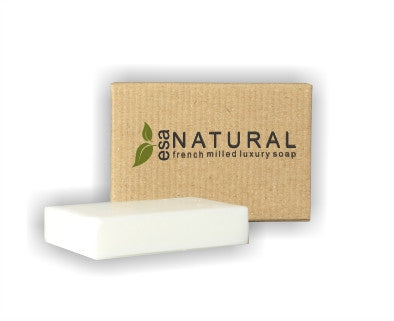 Hotel Soap ESA Natural Luxury 20g (100 per case) As low as 19¢ each! - Canadian Hotel Supplies