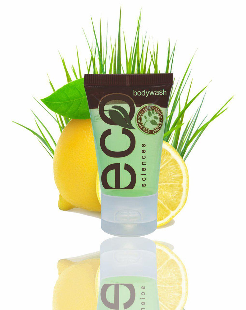 Hotel Body Wash ECO Sciences 30ml (100 per case) Only 37¢ each! - Canadian Hotel Supplies
