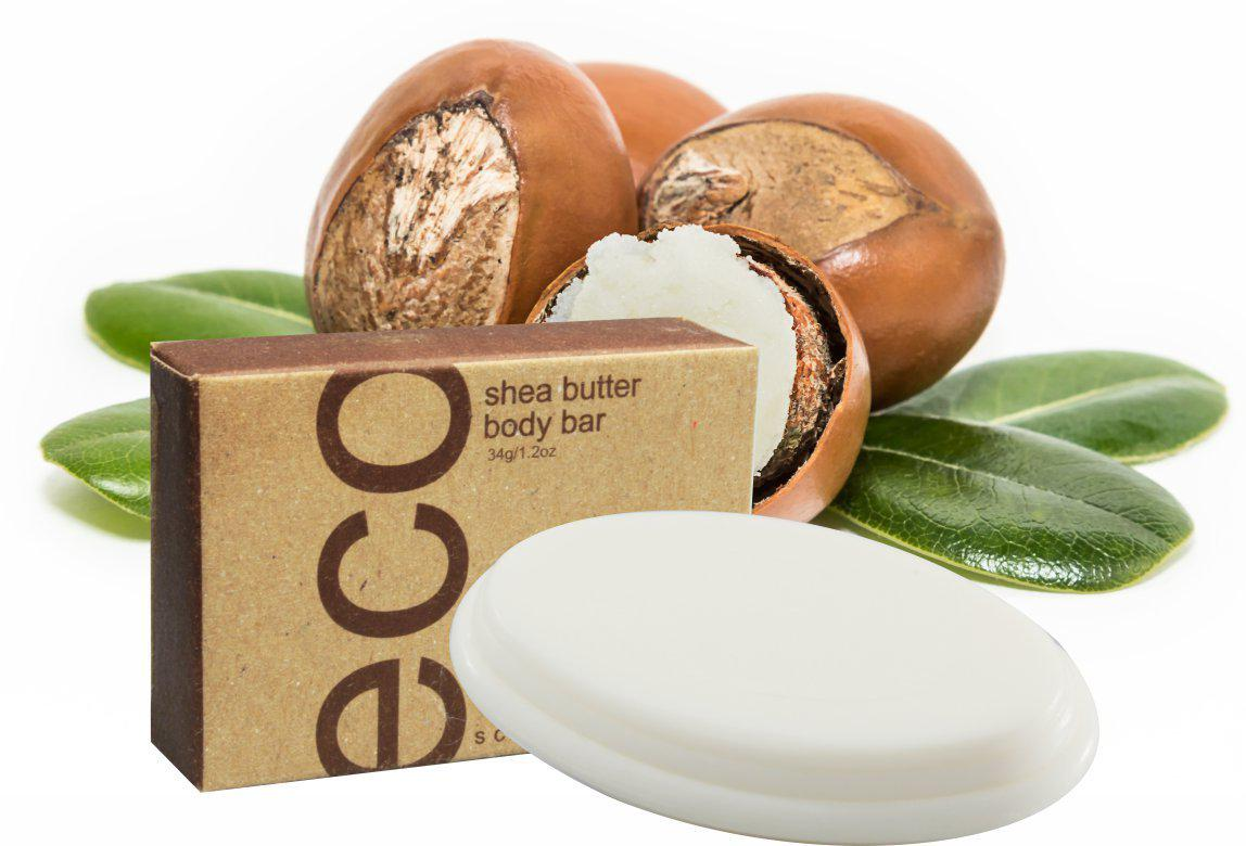 Hotel Supplies Shea Butter Body Bar ECO Sciences 34g (100 per case) 34¢ each or less! - Canadian Hotel Supplies