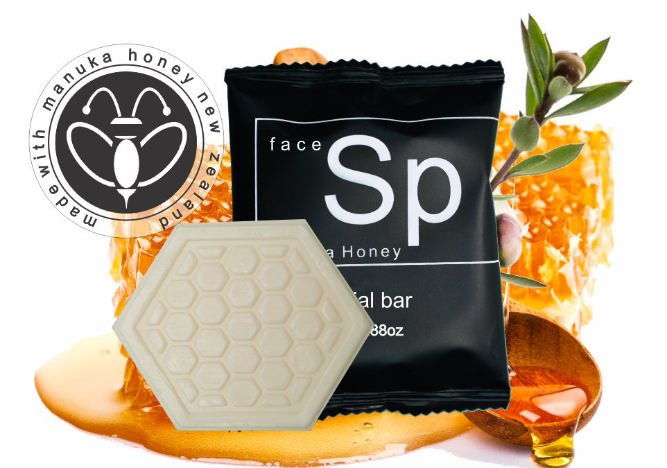 Hotel Facial Soap 25g Manuka Honey (100 per case) .29 each or less - Canadian Hotel Supplies