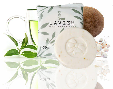 Hotel Soap LAVISH Deodorant Bar 30g (100 per case) As low as 25¢ each!