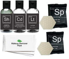 Hotel Guest Amenities Low volume Manuka Starter Kit (50 of each) - Canadian Hotel Supplies