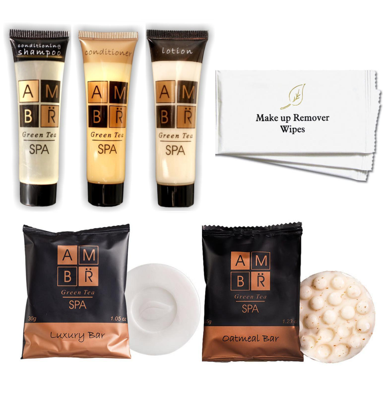 Hotel Guest Amenities Low Volume AMBR Spa (50 sets) - Canadian Hotel Supplies