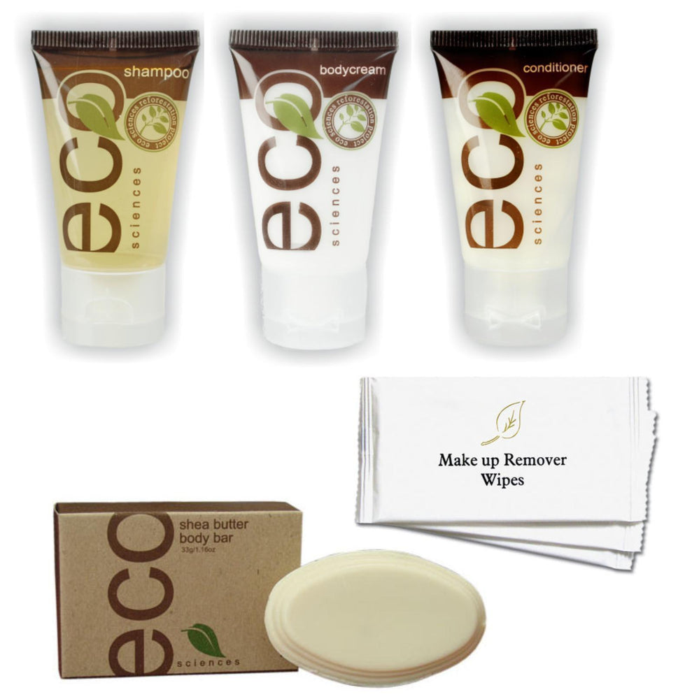 Hotel Guest Amenities Low Volume ECO Sciences (50 sets)