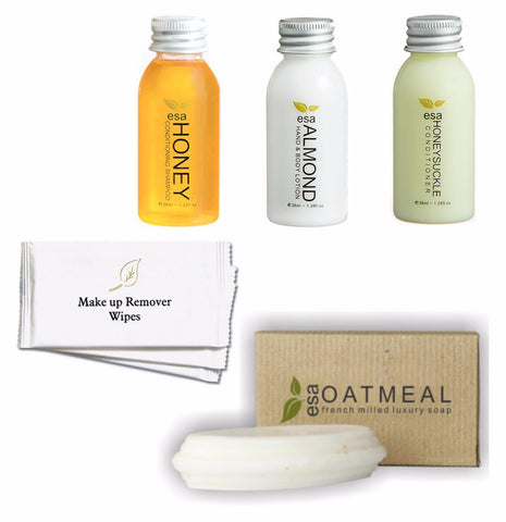 Hotel Guest Amenities Low Volume ESA (50 sets)