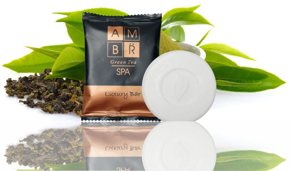 Hotel Soap AMBR Spa Flow Luxury Bar 30g (100 per case)