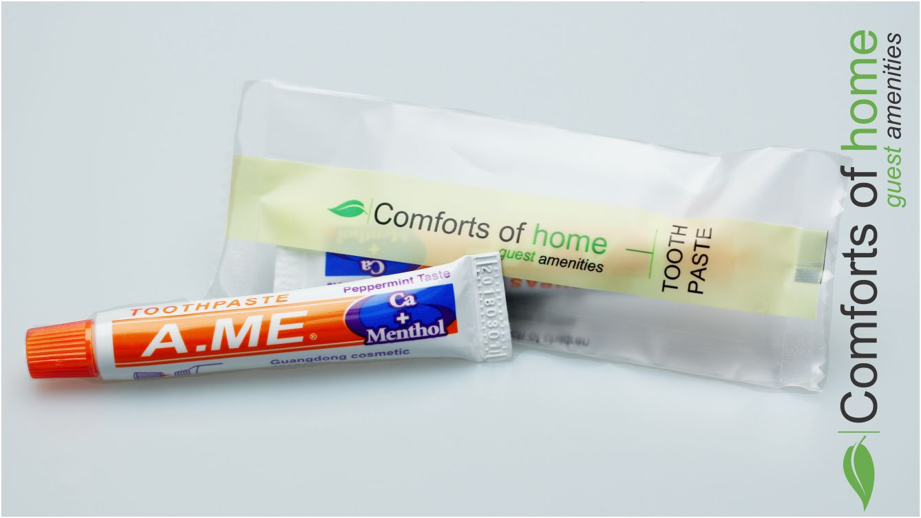 Hotel Toothpaste Comforts of Home (100 per case) - Canadian Hotel Supplies