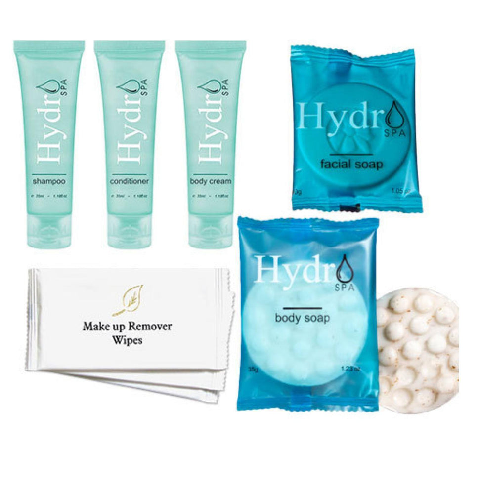 Hotel Guest Amenities Low Volume Hydro Spa (50 sets)