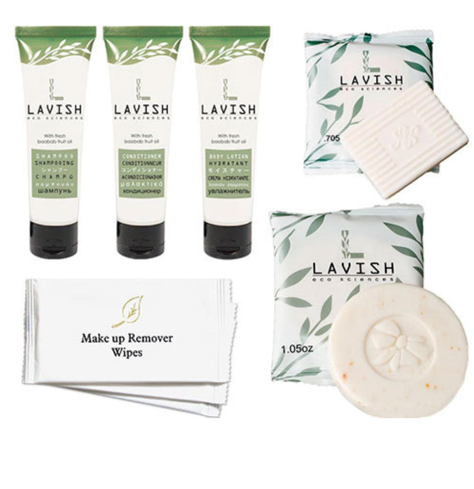 Hotel Guest Amenities Low Volume LAVISH (50 sets)