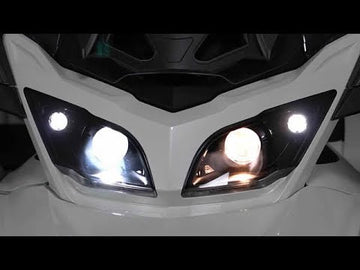 360 LED Headlights for Spyder RT (CanBus Approved)