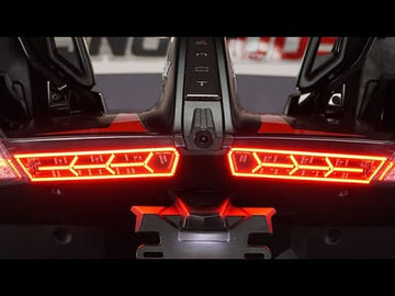AfterburnerZ LED Tail Lights with Sequential Turn Signals and Run/Brake