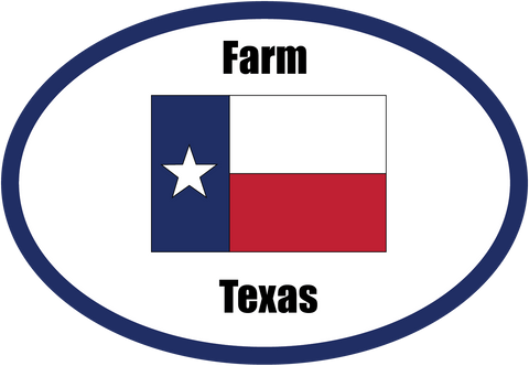Farm Texas Flag