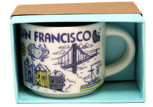 Starbucks Been There Collection San Francisco California Coffee Mug New with Box