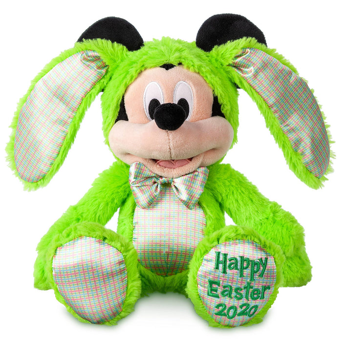 Disney Parks Mickey Bunny 2020 Happy Easter Plush New with Tag