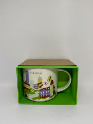 Starbucks You Are Here Collection Tianjin China Ceramic Coffee Mug New with Box