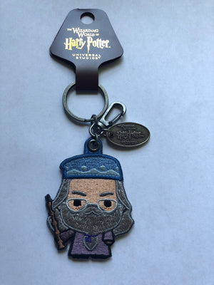 Universal Studios Wizarding World of Harry Potter Albus Patch Keychain New Tags